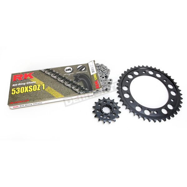 RK Natural Honda 530XSO-Z1 Chain and Sprocket Kit  - 1092-000E