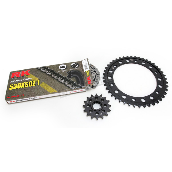 RK Natural Honda 530 XSO-Z1 Chain and Sprocket Kit - 1103-080E