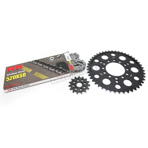 RK Natural Kawasaki 520 XSO Chain and Sprocket Kit  - 2062-060E