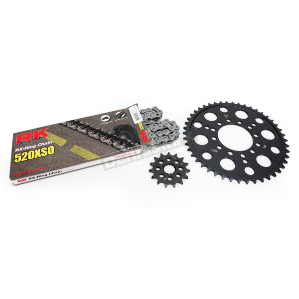 RK Natural Kawasaki 520 XSO Chain and Sprocket Kit  - 2062-100E