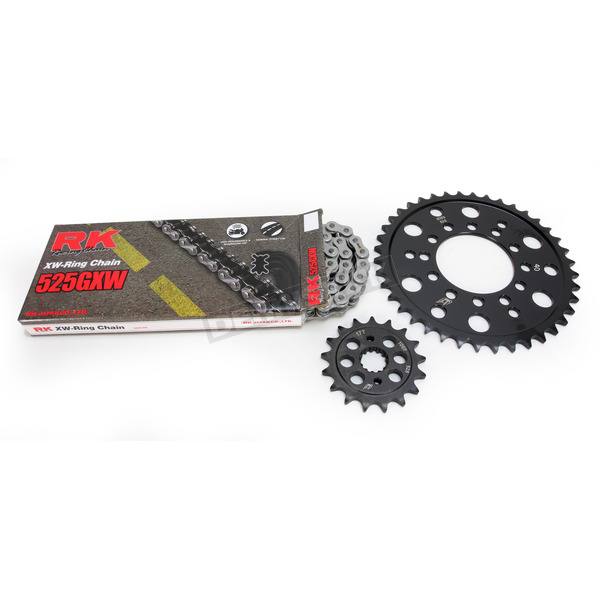 RK Natural Kawasaki 525 GXW Chain and Sprocket Kit  - 2108-060E