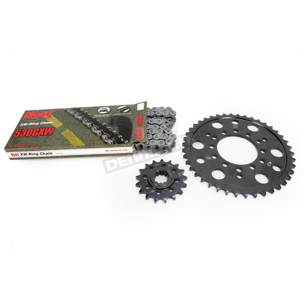 RK Natural Kawasaki 530 GXW Chain and Sprocket Kit  - 2127-010E