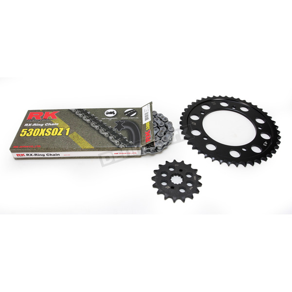 RK Natural Suzuki 530XSO-Z1 Chain and Sprocket Kit  - 3106-070E