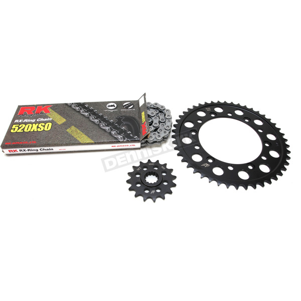 RK Natural Yamaha 520XSO Chain and Sprocket Kit  - 4064-090E