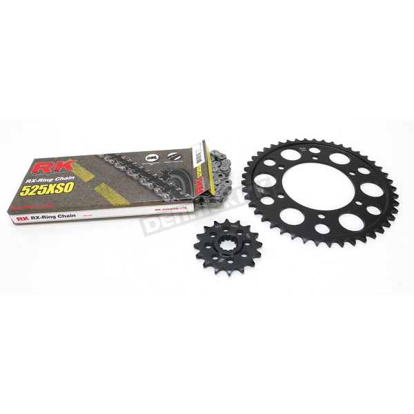 RK Natural Yamaha 525XSO Chain and Sprocket Kit  - 4067-060E