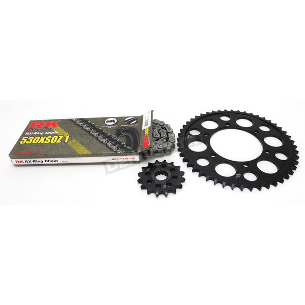 RK Natural Yamaha 530 XSO-Z1 Chain and Sprocket Kit - 4067-030E