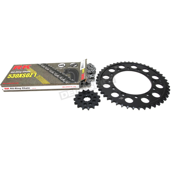 RK Natural Yamaha 530 XSO-Z1 Chain and Sprocket Kit - 4067-940E