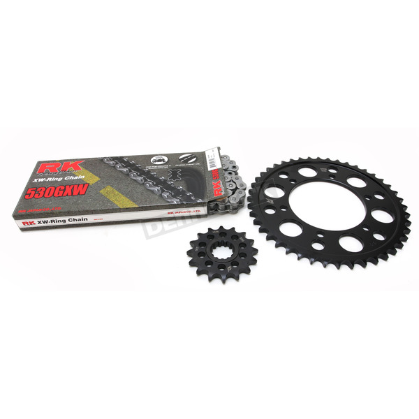 RK Natural Yamaha 530GXW Chain and Sprocket Kit  - 4102-010E