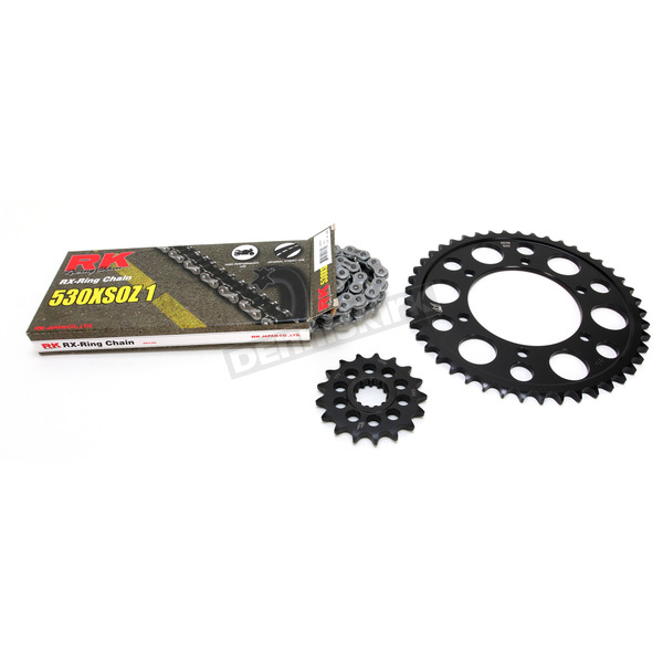 RK Natural Yamaha 530 XSO-Z1 Chain and Sprocket Kit - 4107-060E