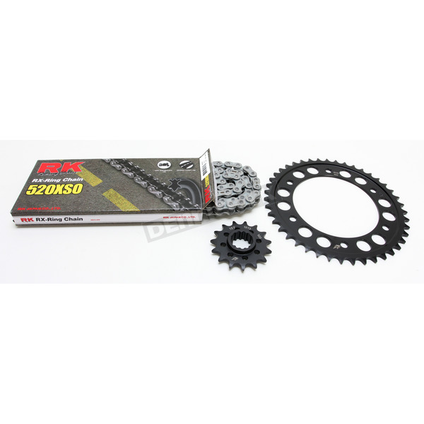 RK Natural Honda 520XSO Quick Acceleration Kit w/Steel Sprockets - 1062-039P