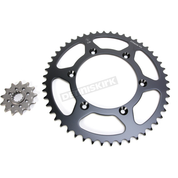 DID MX Racing 520DZ2 Gold Chain and Sprocket Kit - MXS-006OEM+1