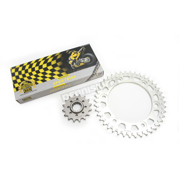 Regina 520ZRP Z-Ring Chain and Sprocket Kit - 5ZRP/114KHO028