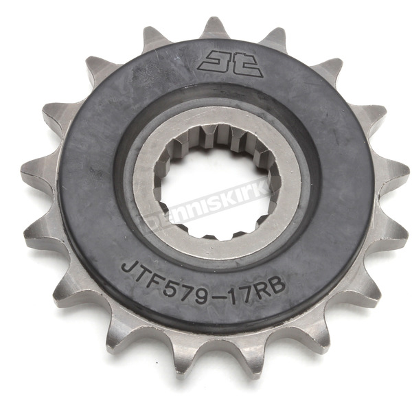 JT Sprockets Front Rubber 17 Tooth Cushioned Sprocket - JTF1529.17RB