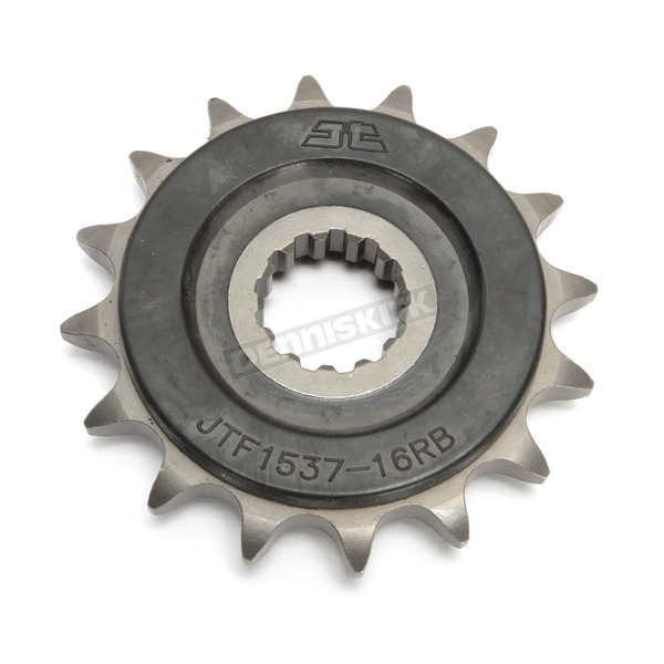 JT Sprockets Front Rubber 16 Tooth Cushioned Sprocket - JTF1537.16RB