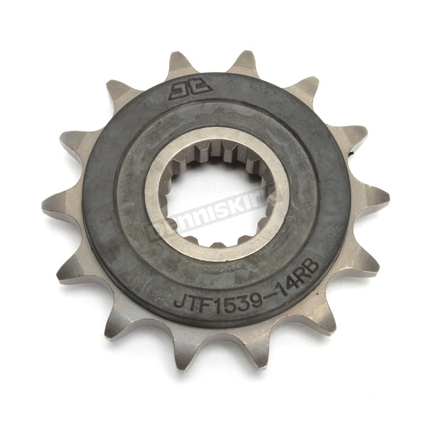 JT Sprockets Front Rubber 14 Tooth Cushioned Sprocket - JTF1539.14RB