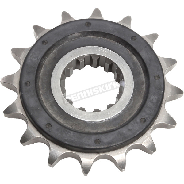 JT Sprockets Front Rubber 16 Tooth Cushioned Sprocket - JTF1591.16RB