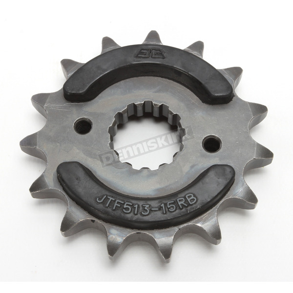 JT Sprockets Front Rubber 15 Tooth Cushioned Sprocket - JTF513.15RB