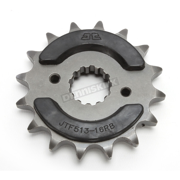 Front Rubber 16 Tooth Cushioned Sprocket - JTF513.16RB