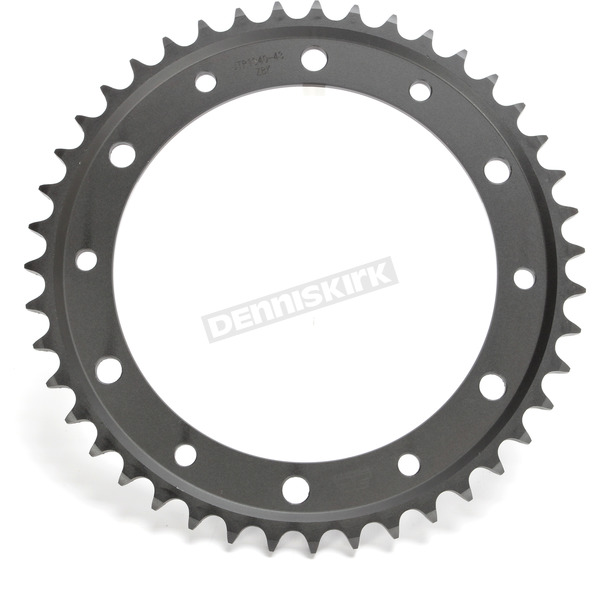 JT Sprockets Induction Hardened Black Zinc Finished 43 Tooth Rear Sprocket - JTR1340.43ZB