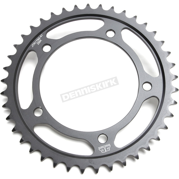 JT Sprockets Induction Hardened Black Zinc Finished 525 41 Tooth Rear Sprocket - JTR1792.41ZB