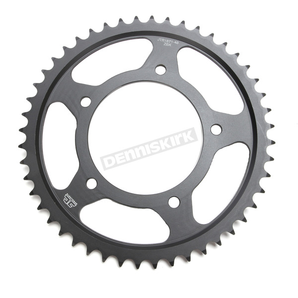 JT Sprockets Induction Hardened Black Zinc Finished 48 Tooth Rear Sprocket - JTR1871.48ZB
