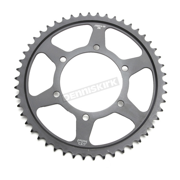 JT Sprockets Induction Hardened Black Zinc Finished 50 Tooth Rear Sprocket - JTR2014.50ZBK