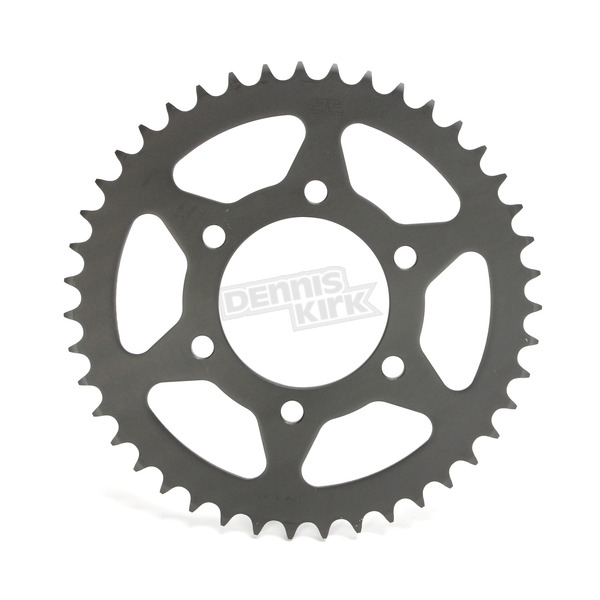 JT Sprockets Induction Hardened Black Zinc Finished 520 43 Tooth Rear Sprocket - JTR478.43ZBK