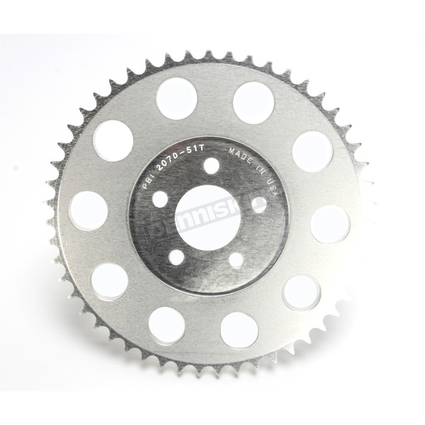 PBI Sprockets Aluminum Rear 51 Tooth Drive Sprocket  - 2070-51C