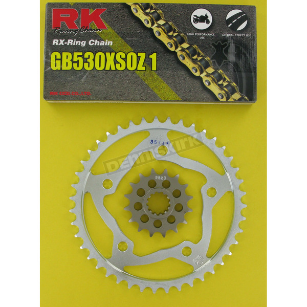 RK 530XSO Chain and Sprocket Kit - 1092-930W