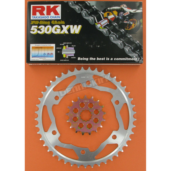 RK 530GXW Chain and Sprocket Kit - 2117-930W