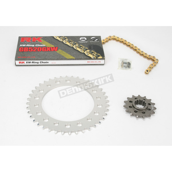 RK GB520XSO Race Chain and Sprocket Kit - 1107-008RG