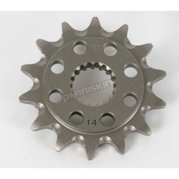 Self-Cleaning Steel 14 Tooth 520 Front Sprocket - JTF284.14SC