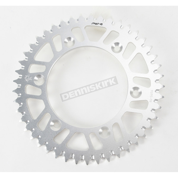 JT Sprockets 45 Tooth Rear Aluminum Sprocket - JTA897.45