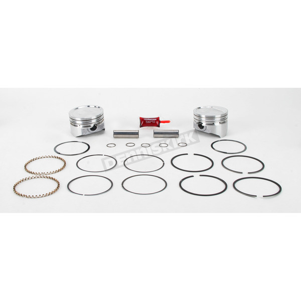 KB Performance Piston Kit - 3.498 in. Bore/9:1 Ratio - KB272.000