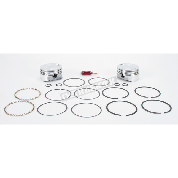 KB Performance Piston Kit - 3.875 in. Bore/9.25:1 Ratio - KB348.000