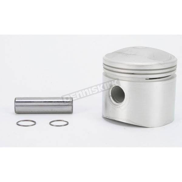 Drag Specialties Low Compression Piston - 3.497 in. Bore/7.5:1 Ratio - DS-750716