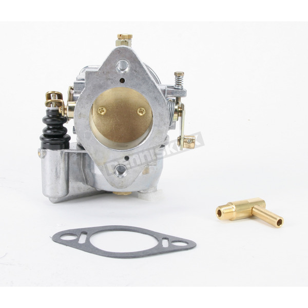 Zenith Fuel Systems Standard Finish 38mm High-Performance Bendix Carb w/Adjustable Main Jet - 013859/CARB