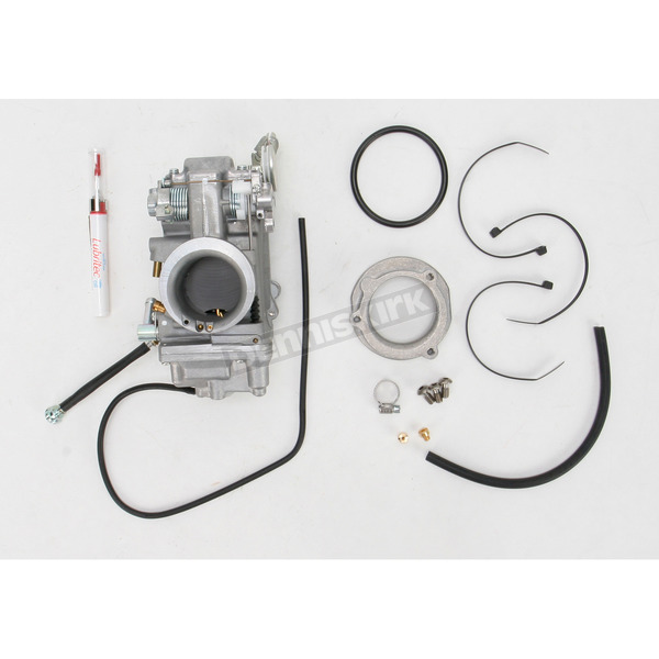Mikuni HSR42 Smoothbore Carburetor Easy Kit for Models using Screamin Eagle Air Filter - 42-11