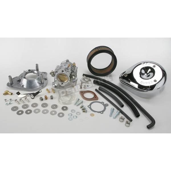 S&S Cycle 1 7/8 in. Super E Carb Kit for Models w/o Manifold - 11-0440