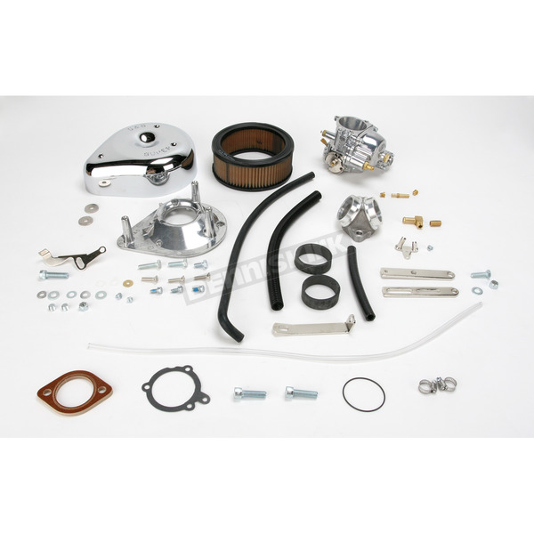 S&S Cycle 1 7/8 in. Super E Carb Kit for Band Style Intake - 11-0411