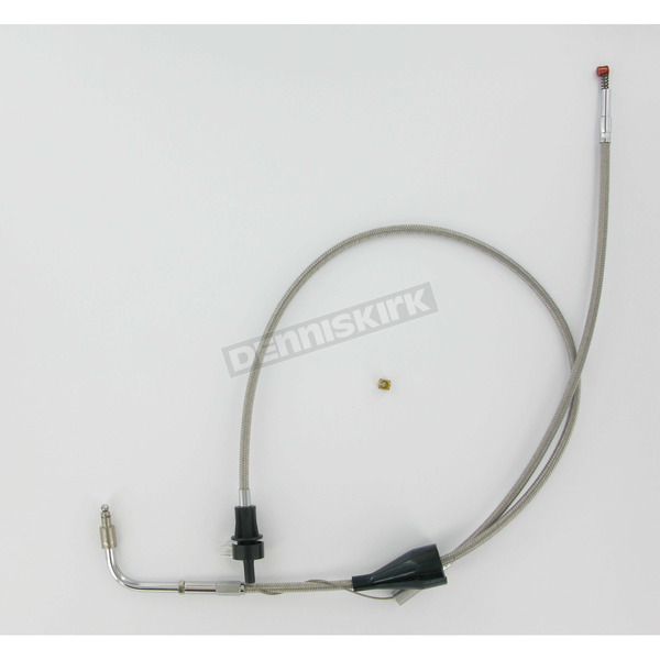 Barnett 25in./13 in. Stainless Steel Idle Cable for Models w/Cruise Control - 102-30-41002