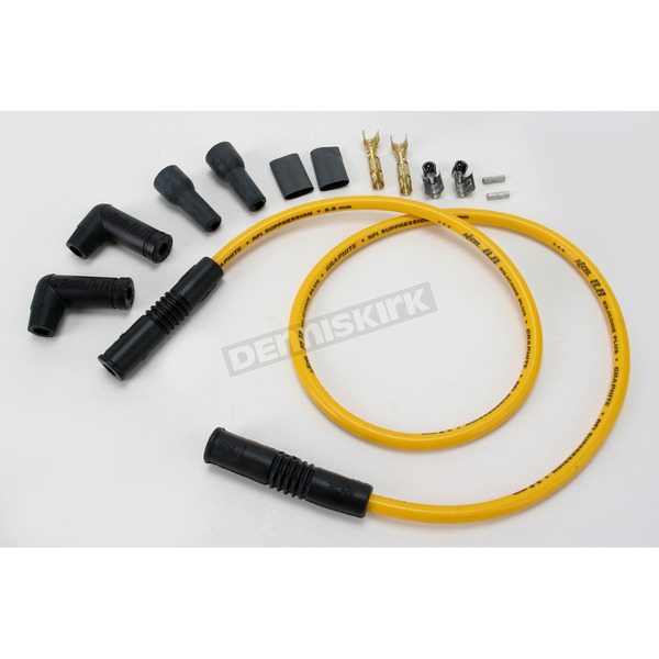 Accel Single Plug Wire Set with Straight Ends - 173085