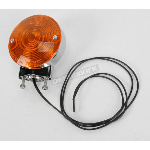 Chris Products Dual-Filament Turn Signal Assembly-Amber - 8400A