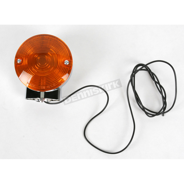 Chris Products Single-Filament Turn Signal Assembly-Amber - 8402A