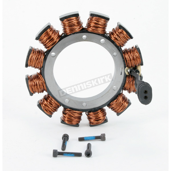 Drag Specialties Uncoated 2-Wire Alternator Stator - DS-195098