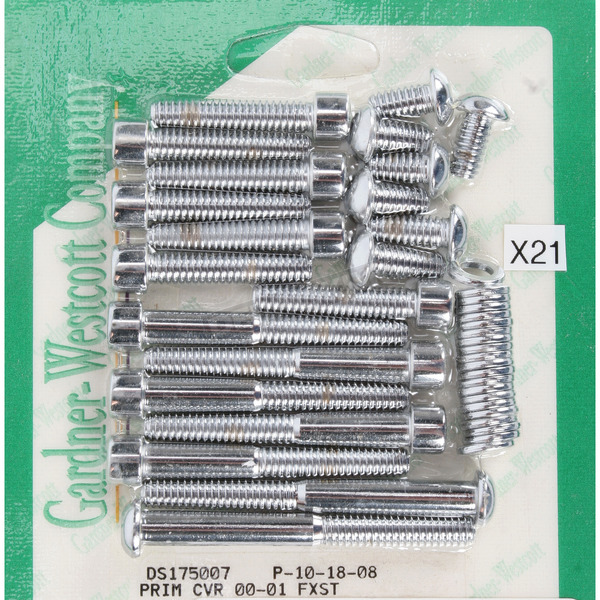 Gardner Westcott Primary Bolt Kit - P-10-18-08