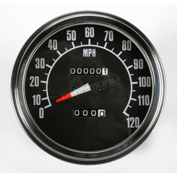 Drag Specialties 2240:60 Speedometer 68-84 Face - DS-243886