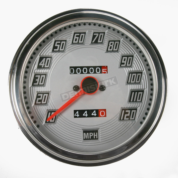Drag Specialties 2:1 Speedometer Billet-look Face - DS-243893