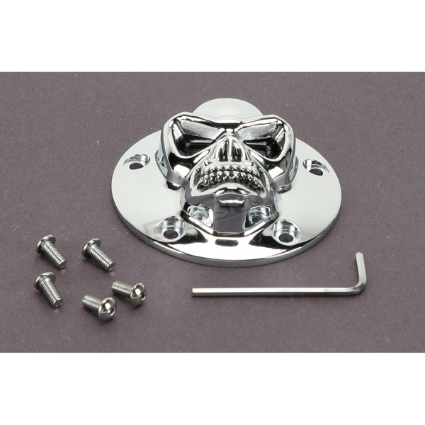 Drag Specialties 3-D Skull Points Cover - 1902-0181