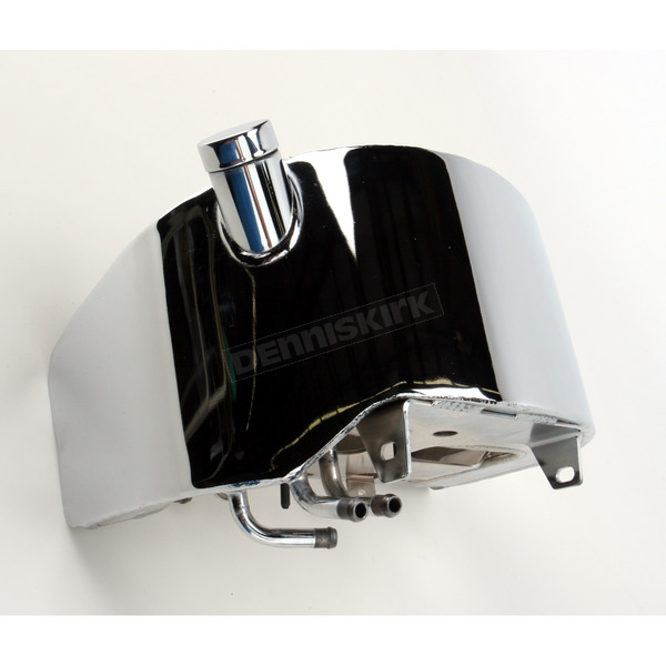 Drag Specialties Chrome Winged Oil Tank - DS-310113